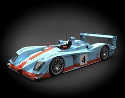 Audi R8 Racing 2001 3D Model