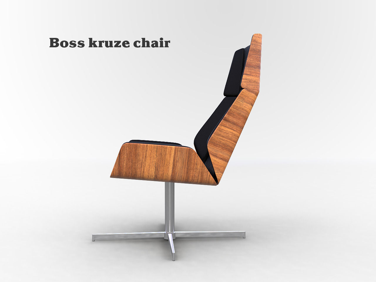 Boss Kruze Chair 3d Model Max Obj 1 ...