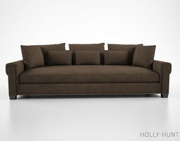 Holly Hunt Coco Sofa 3D