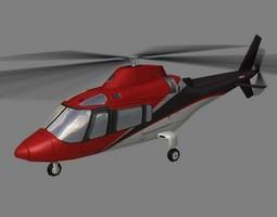 Agusta Helicopter V4 3D Model