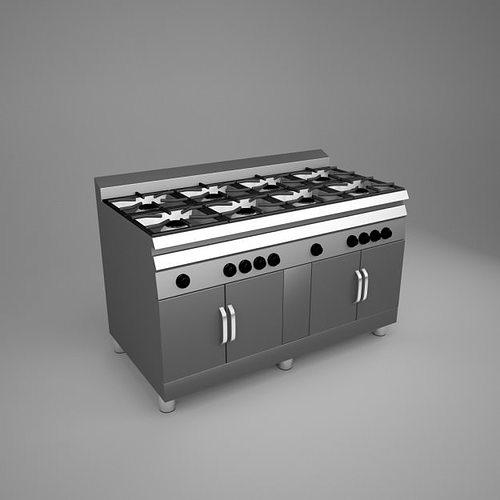 ... Commercial Kitchen Pack 3d Model Max Obj 3ds Fbx Dxf Dwg 5 ...