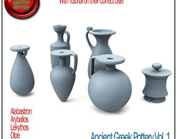 ancient greek pottery vol 1 stl printable