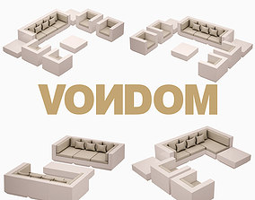 Vela Sofa Set VONDOM 3D asset