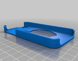 3D print model Apple logo iphone 4 case