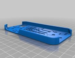 3d print model music is my life with notes iphone 5 case