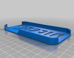 3d printable model diesel iphone 5 case