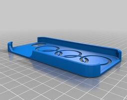 3D printable model Iphone 5 Olympic rings