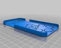 little bear iphone 6 case 3d print model