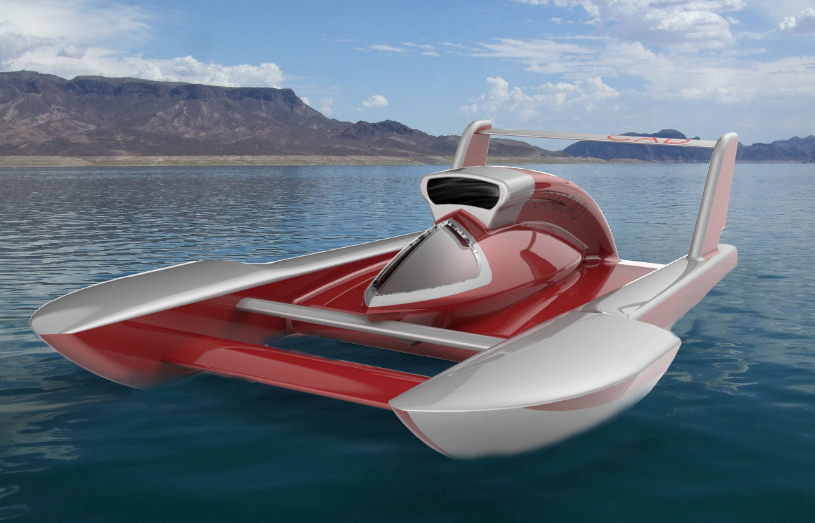 3D model Unlimited hydroplane | CGTrader