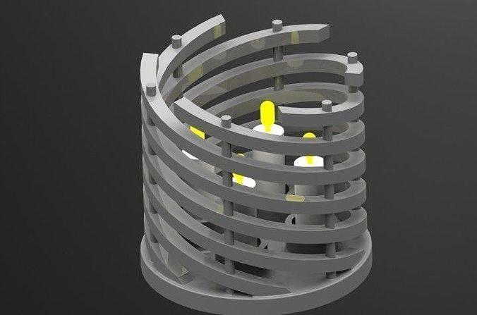 figulo candle holder free 3d model stl sldprt sldasm. Black Bedroom Furniture Sets. Home Design Ideas