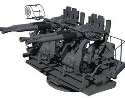 mount mk quad cannon 3D