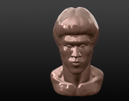 3D printable model BRUCE LEE BUST