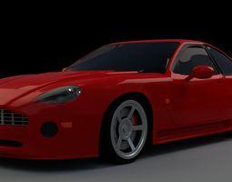 3D model Aston Martin DB7