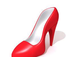 high heels  3d