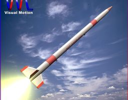 mt-135 rocket 3d