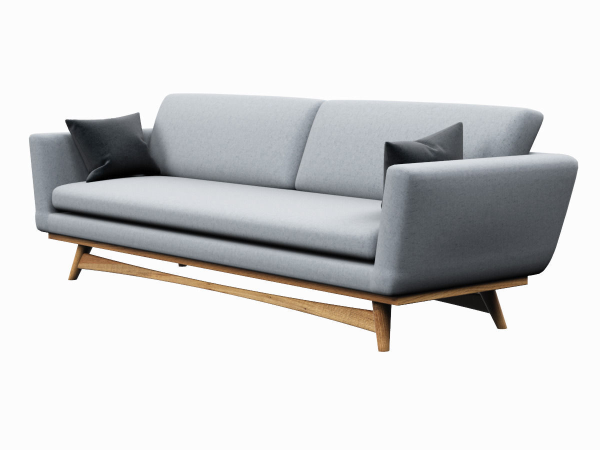 Scandinavian furniture sofa for Danish design sofa