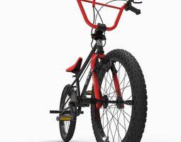 3D asset BMX bike1
