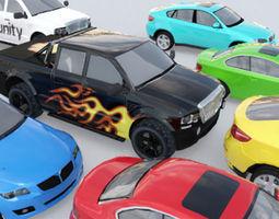 3D model Cars Pack