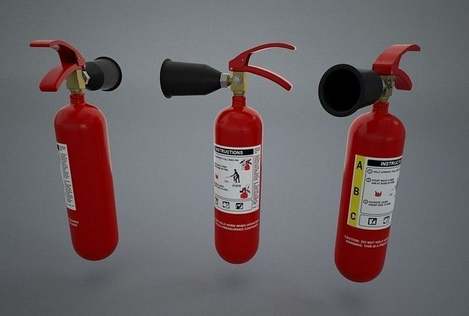 Firefight Fire Extinguisher 3d Model Cgtrader