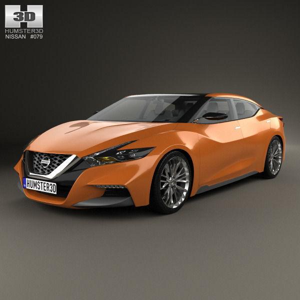Nissan Sport Sedan 2013 3d Model Max Obj 3ds Fbx C4d Lwo Lw Lws 1 ...