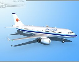 Falcon3D A319 Eurocypria Airlines rigged