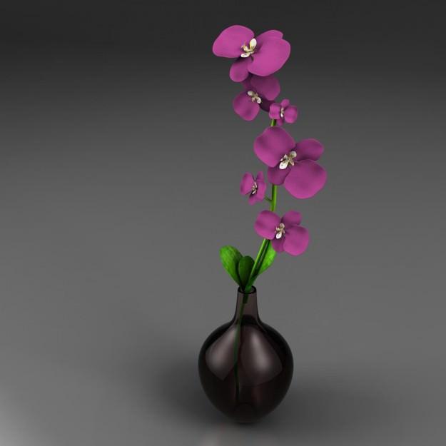 Flower Vase 3d Model Cgtrader