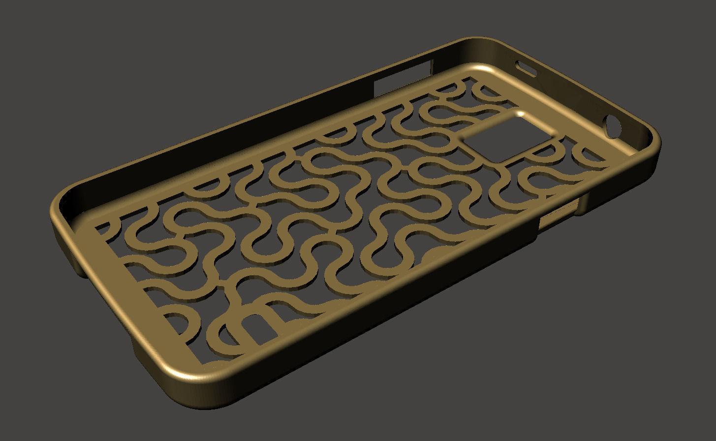 samsung galaxy s5 3d cases. dragon curve samsung galaxy s5 case 3d model stl 1 cases r