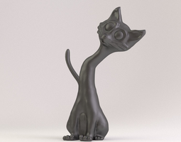 Cat Phone Stand 3D printable model