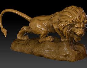 Lion Sculpture Model