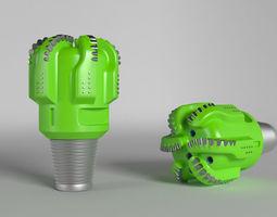 PDC Drill Bit 3D model