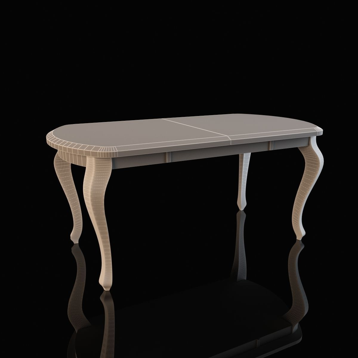 Dining table geneva 3d model max fbx for Dining table models