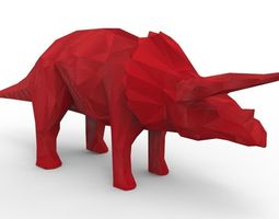 rhino dinosaur 3d model  VR / AR ready