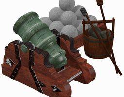 Howitzer 365-06 500lbs 3D model