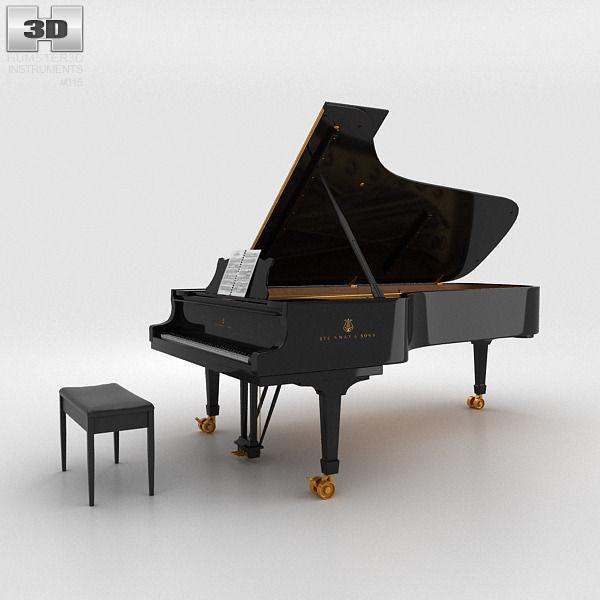 Grand Piano | 3D model