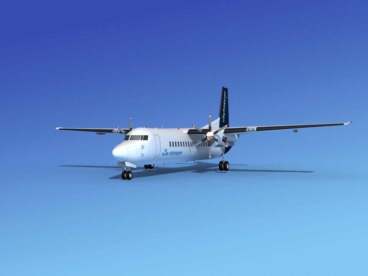 Fokker 50 KLM City Hopper 2