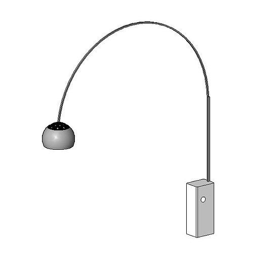 lampe de bureau arc 3d model cgtrader. Black Bedroom Furniture Sets. Home Design Ideas