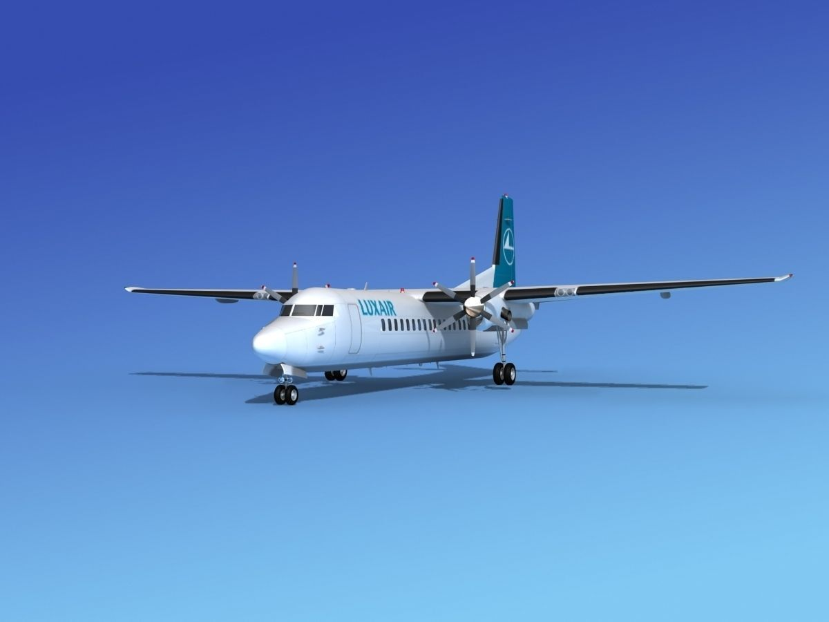 Fokker 50 Luxair