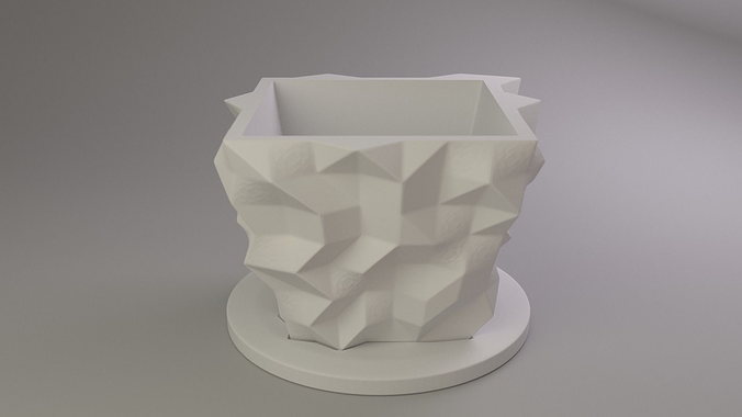 flower pot 3d model stl 1