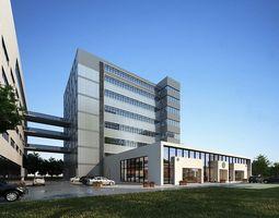 3D model Office-type buildings
