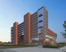 3D cluster School buildings