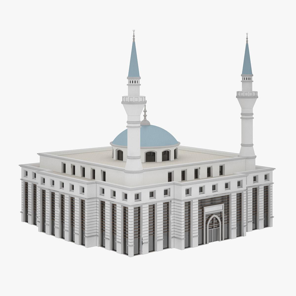 Mosque | 3D model