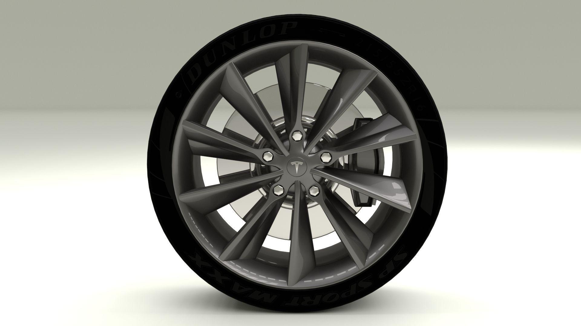 Tesla Model S Wheel