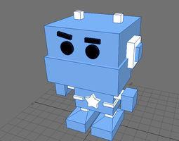 cute 3d robot