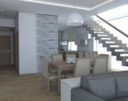 Living Room interior-design 3d