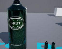 3D asset free Brut Prop of creative Games