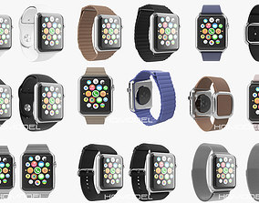 Apple Watch Collection Premium Steel 3D