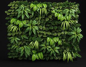 Green wall fytowall 3D model