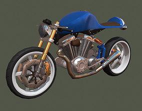 3D asset Concept Motorcycle