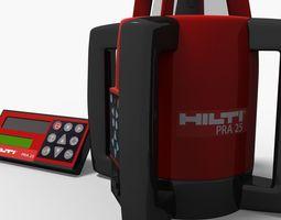 3D Hilti Rotary Laser RP25