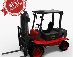 Hight Lift Truck Desta 3D Model
